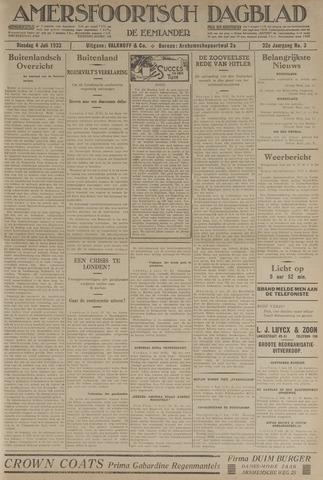 Amersfoortsch Dagblad / De Eemlander 1933-07-04
