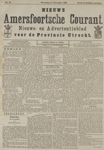 Nieuwe Amersfoortsche Courant 1908-11-11
