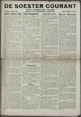 Soester Courant 1945-11-02