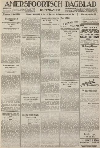Amersfoortsch Dagblad / De Eemlander 1934-07-25