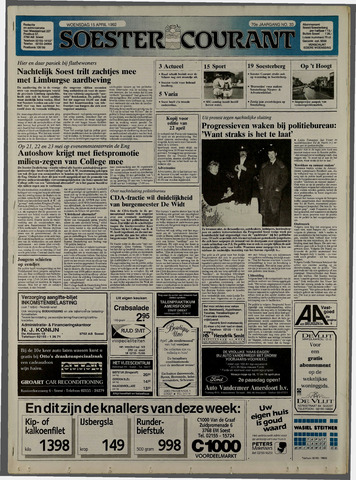 Soester Courant 1992-04-15