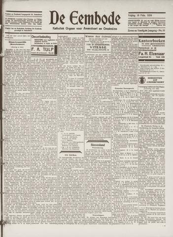 De Eembode 1934-02-16