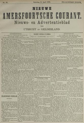 Nieuwe Amersfoortsche Courant 1894-04-21