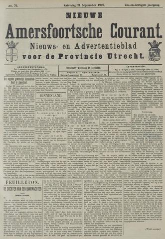 Nieuwe Amersfoortsche Courant 1907-09-21