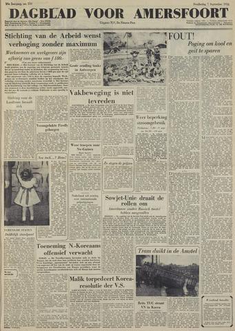 Dagblad voor Amersfoort 1950-09-07
