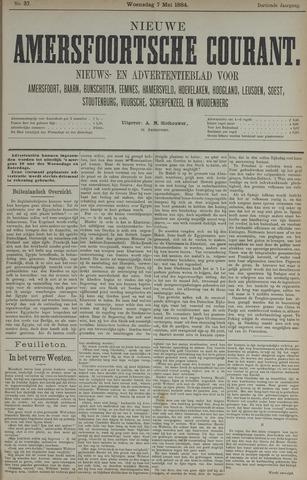 Nieuwe Amersfoortsche Courant 1884-05-07