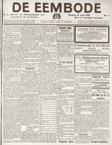 De Eembode 1927-04-12