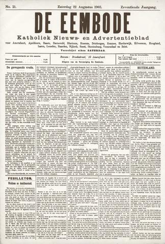 De Eembode 1903-08-22