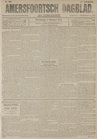 Amersfoortsch Dagblad / De Eemlander 1913-02-05