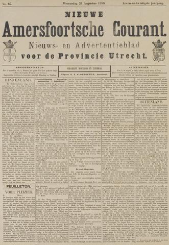 Nieuwe Amersfoortsche Courant 1898-08-24