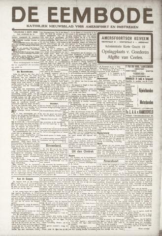 De Eembode 1920-10-01