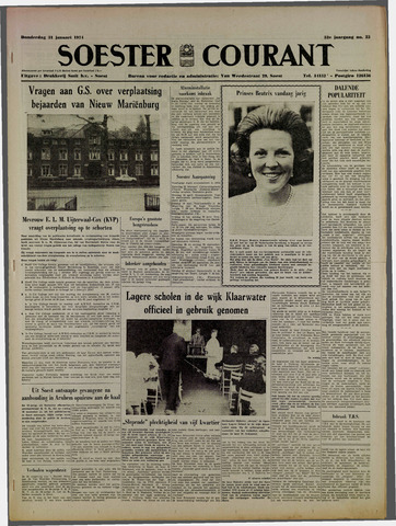 Soester Courant 1974-01-31