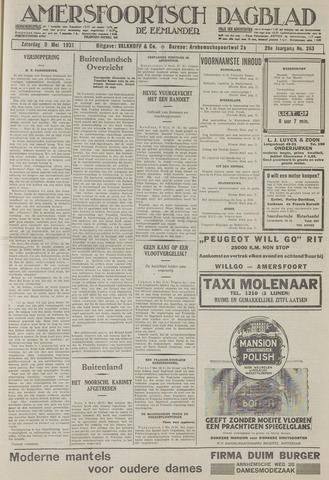Amersfoortsch Dagblad / De Eemlander 1931-05-09