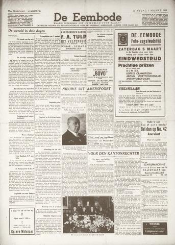 De Eembode 1938-03-01