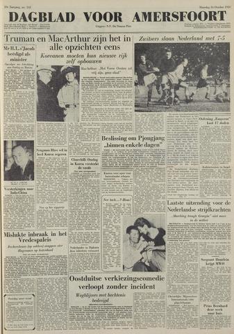 Dagblad voor Amersfoort 1950-10-16