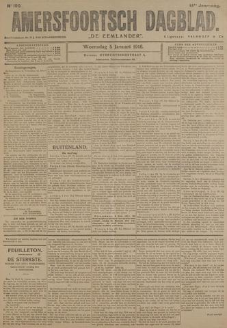 Amersfoortsch Dagblad / De Eemlander 1916-01-05
