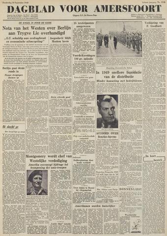 Dagblad voor Amersfoort 1948-09-30