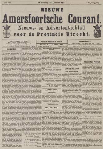 Nieuwe Amersfoortsche Courant 1914-10-21