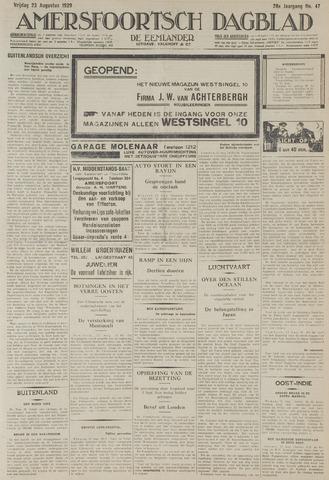 Amersfoortsch Dagblad / De Eemlander 1929-08-23