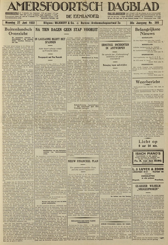 Amersfoortsch Dagblad / De Eemlander 1932-06-27