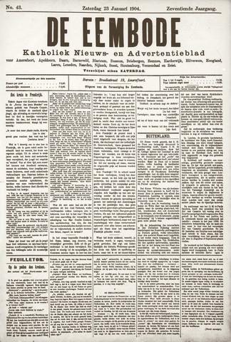 De Eembode 1904-01-23