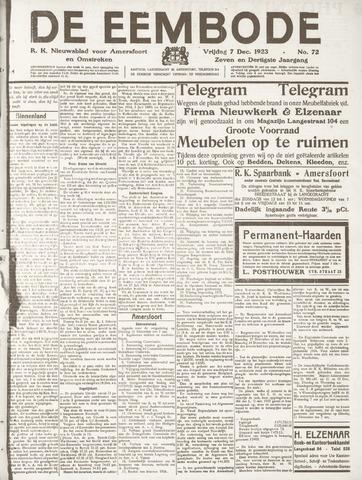 De Eembode 1923-12-07