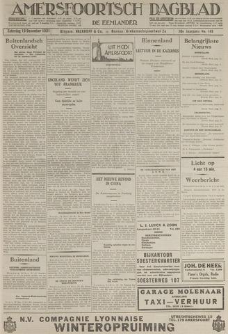 Amersfoortsch Dagblad / De Eemlander 1931-12-19