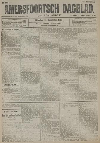 Amersfoortsch Dagblad / De Eemlander 1915-12-14