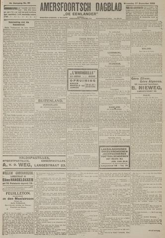 Amersfoortsch Dagblad / De Eemlander 1922-12-27