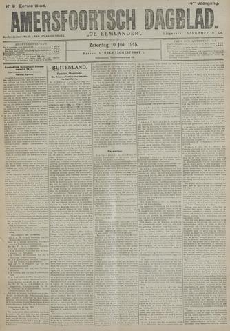 Amersfoortsch Dagblad / De Eemlander 1915-07-10