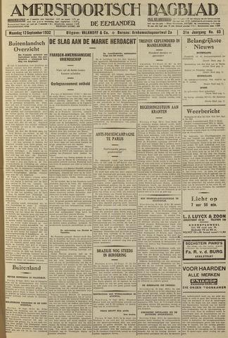 Amersfoortsch Dagblad / De Eemlander 1932-09-12