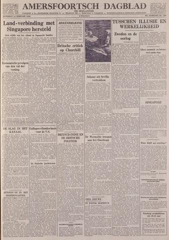 Amersfoortsch Dagblad / De Eemlander 1942-02-14