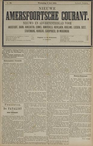 Nieuwe Amersfoortsche Courant 1884-07-09