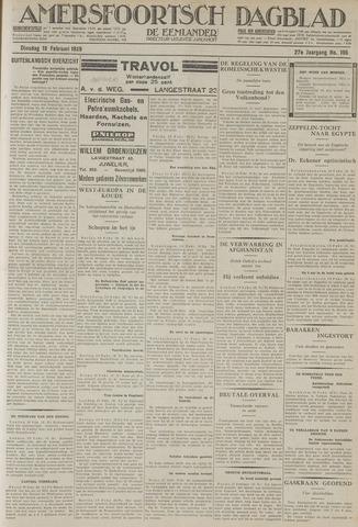 Amersfoortsch Dagblad / De Eemlander 1929-02-19