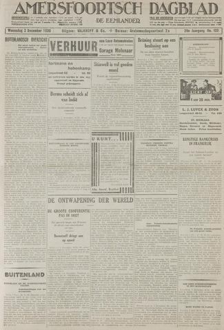 Amersfoortsch Dagblad / De Eemlander 1930-12-03