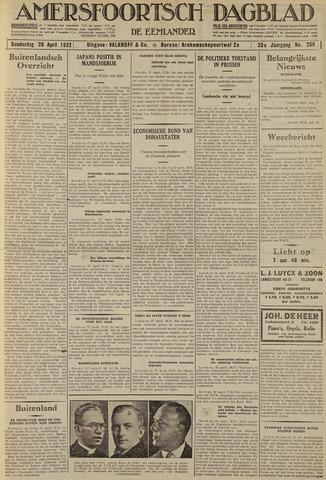 Amersfoortsch Dagblad / De Eemlander 1932-04-28