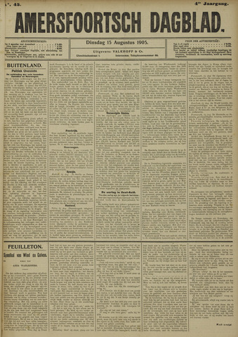 Amersfoortsch Dagblad 1905-08-15