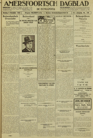 Amersfoortsch Dagblad / De Eemlander 1932-12-06