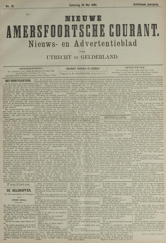 Nieuwe Amersfoortsche Courant 1889-05-25