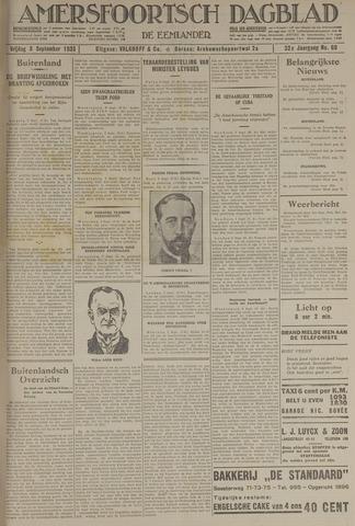 Amersfoortsch Dagblad / De Eemlander 1933-09-08