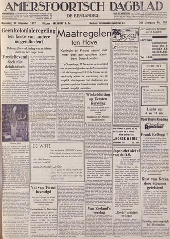 Amersfoortsch Dagblad / De Eemlander 1937-12-22