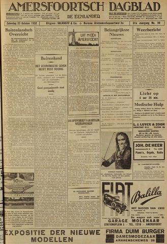 Amersfoortsch Dagblad / De Eemlander 1932-10-22