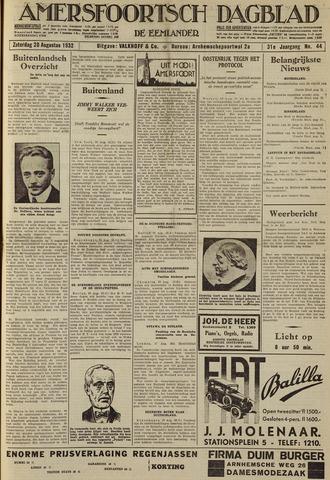 Amersfoortsch Dagblad / De Eemlander 1932-08-20
