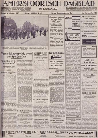 Amersfoortsch Dagblad / De Eemlander 1937-12-04