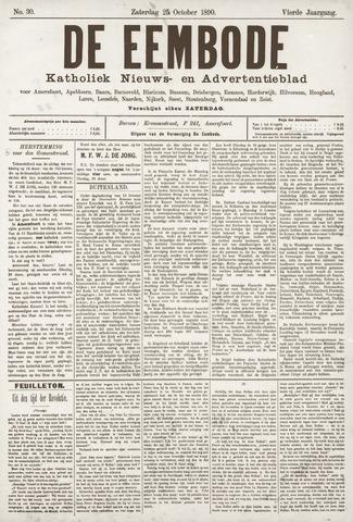 De Eembode 1890-10-25