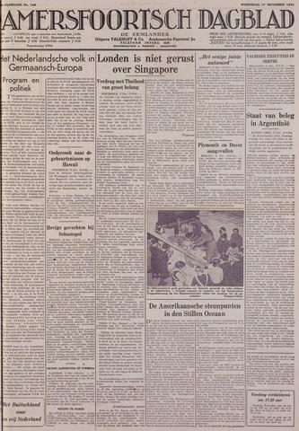 Amersfoortsch Dagblad / De Eemlander 1941-12-17