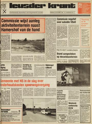 Leusder Krant 1983-10-25