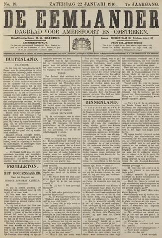 De Eemlander 1910-01-22