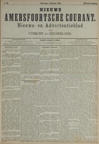Nieuwe Amersfoortsche Courant 1886-12-01