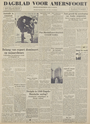 Dagblad voor Amersfoort 1947-09-09